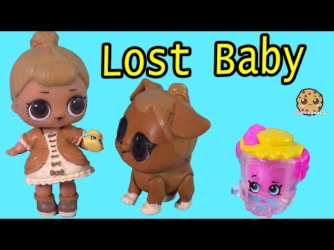 Lost Baby - LOL Surprise Search for Shopkins In House - Pretend Toy Video