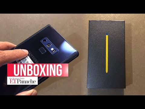 Samsung Galaxy Note 9: Unboxing And First Impression | India