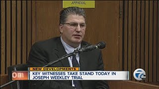 Key witness takes stand today in Joseph Weekley trial
