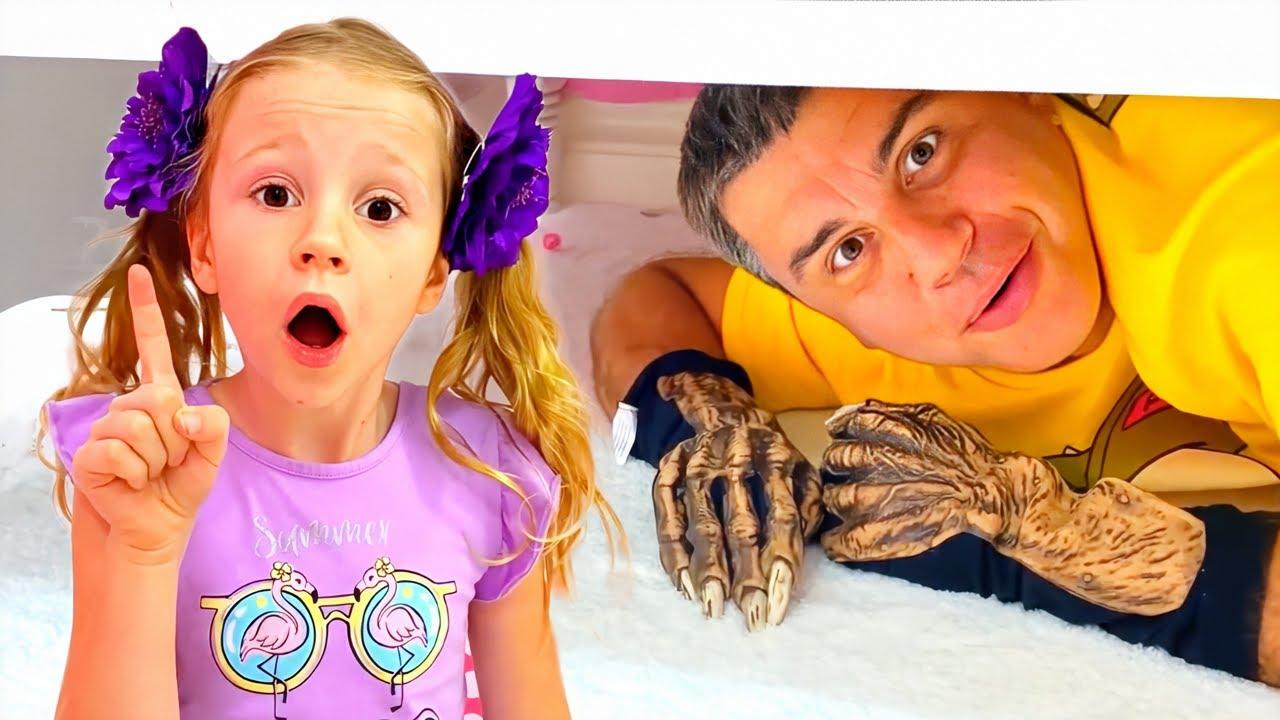 ناستيا و قصة وحش تحت السرير, مجموعة من القصص