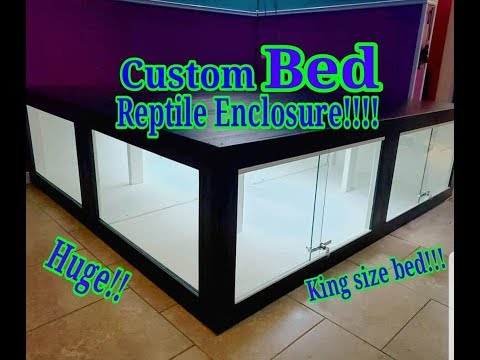 King Size!!! BED Reptile Enclosure!! DREAM BED??
