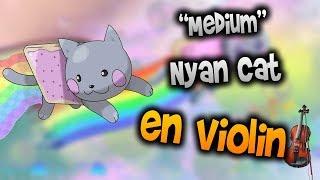 Nyan Cat en Violín|tab,tutorial,partitura,como tocar|HD Tutorial