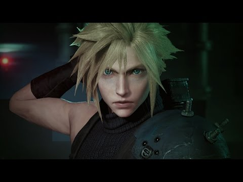FINAL FANTASY VII REMAKE - PSX 2015 Trailer