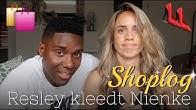 Shoplog Resley kleedt Nienke