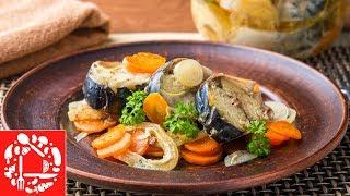 Так Скумбрию вы точно еще не Готовили! Рыба в духовке Необычный легкий рецепт!