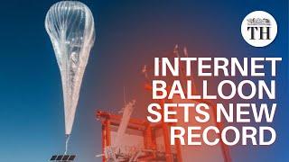 Loon internet balloon makes record flight