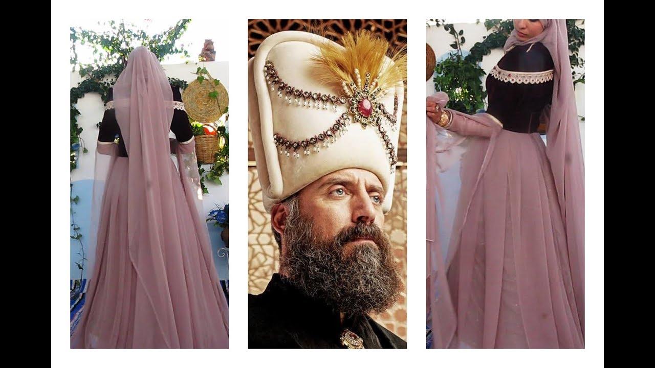 8b11dadfe قومي بصنع فساتين (حريم السلطان ) بنفسك (رائع للعرائس) حقبة العثمانيين