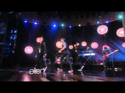 Big Time Rush -Music Sounds Better With You- Ellen Degeneres Show