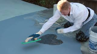 plastering and stucco products other uses, acrylic stucco over a driveway
