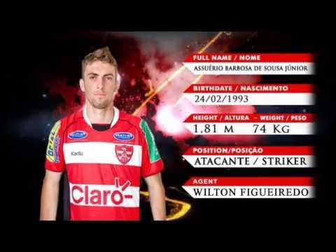 Assuério - Atacante // Striker - Centre Forward // 2016