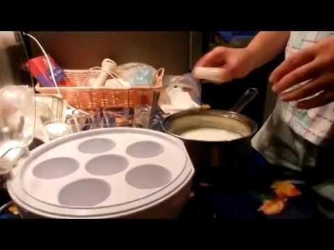Как Сделать Вкусный Йогурт Дома (Йогурт с Фруктами)