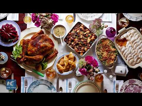 A brief look at the Thanksgiving traditions