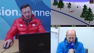 Baixar Adam Małysz skacze w... Deluxe Ski Jump. Komentuje Włodzimierz Szaranowicz (zwiastun)