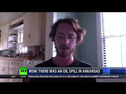 Full Show 4/8/13: MSM: There Was An Oil Spill in Arkansas. Cover it.