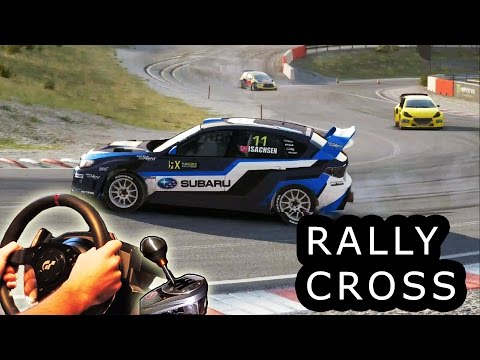 DiRT Rally Rallycross - Very Hard difficulty, first place. Norway, Hell. Subaru WRX STI 2015