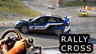 DiRT Rally Rallycross - Very Hard difficulty, first place. Norway, Hell. Subaru WRX STI 2015