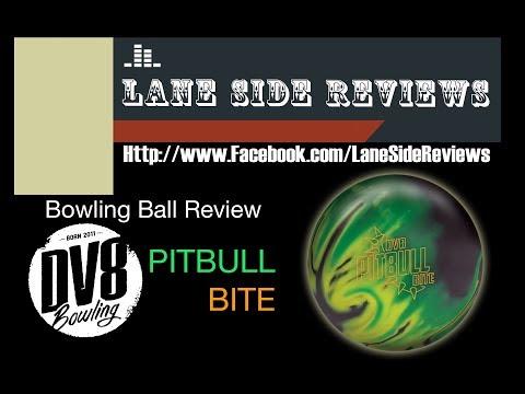 DV8 PITBULL BITE Ball Review  Lane Side Reviews