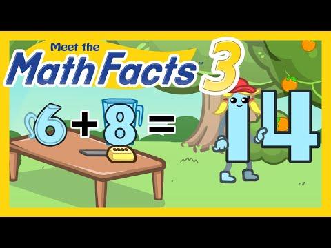 Meet the Math Facts Level 3 - 6+8=14