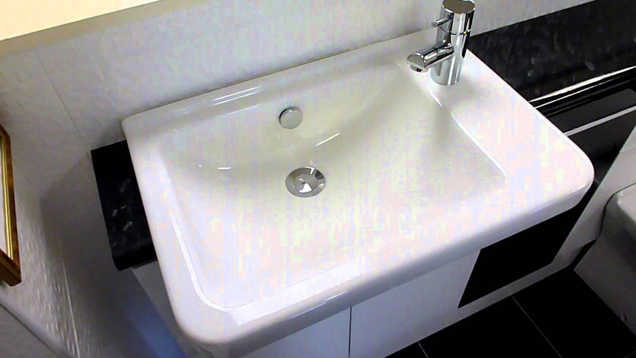 Vitra S50 Semi Recessed Basin And Back To Wall Pan At Homecare Supplies  Darlington.MOV
