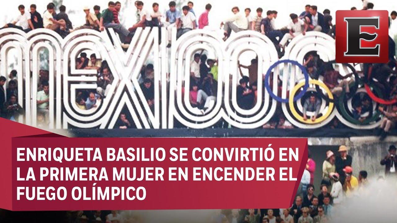 A 50 Anos De Los Juegos Olimpicos Mexico 1968 Youtube