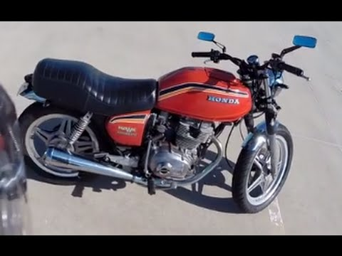 Riding Practice With My 1978 Honda Cb400a Hondamatic  Part