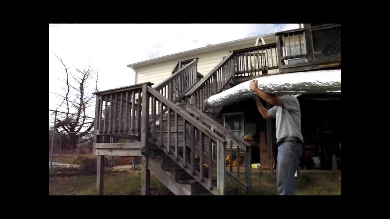DIY How to install Flexible Chimney Liner Hose in Fireplace, installation  for a Wood Stove - DIY How To Install Flexible Chimney Liner Hose In Fireplace