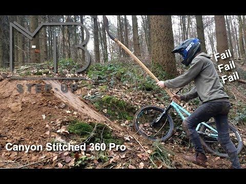 Trick Sprung Bauen | Canyon Stitched 360...
