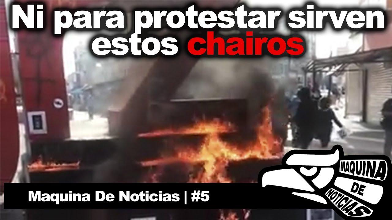 Chairos de mentiritas y mas noticias | Maquina De Noticias 5