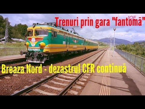 Trenuri prin gara