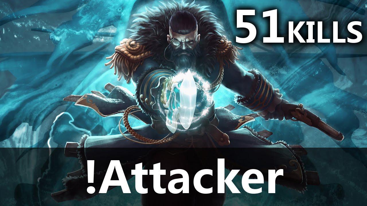 Attacker Kunkka Gameplay 51 KILLS YouTube