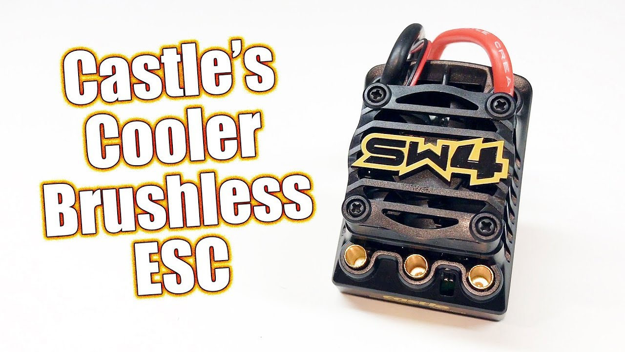 More Power & Cooler! - Castle Creations Sidewinder 4 Sensorless Brushless  Speed Control | RC Driver