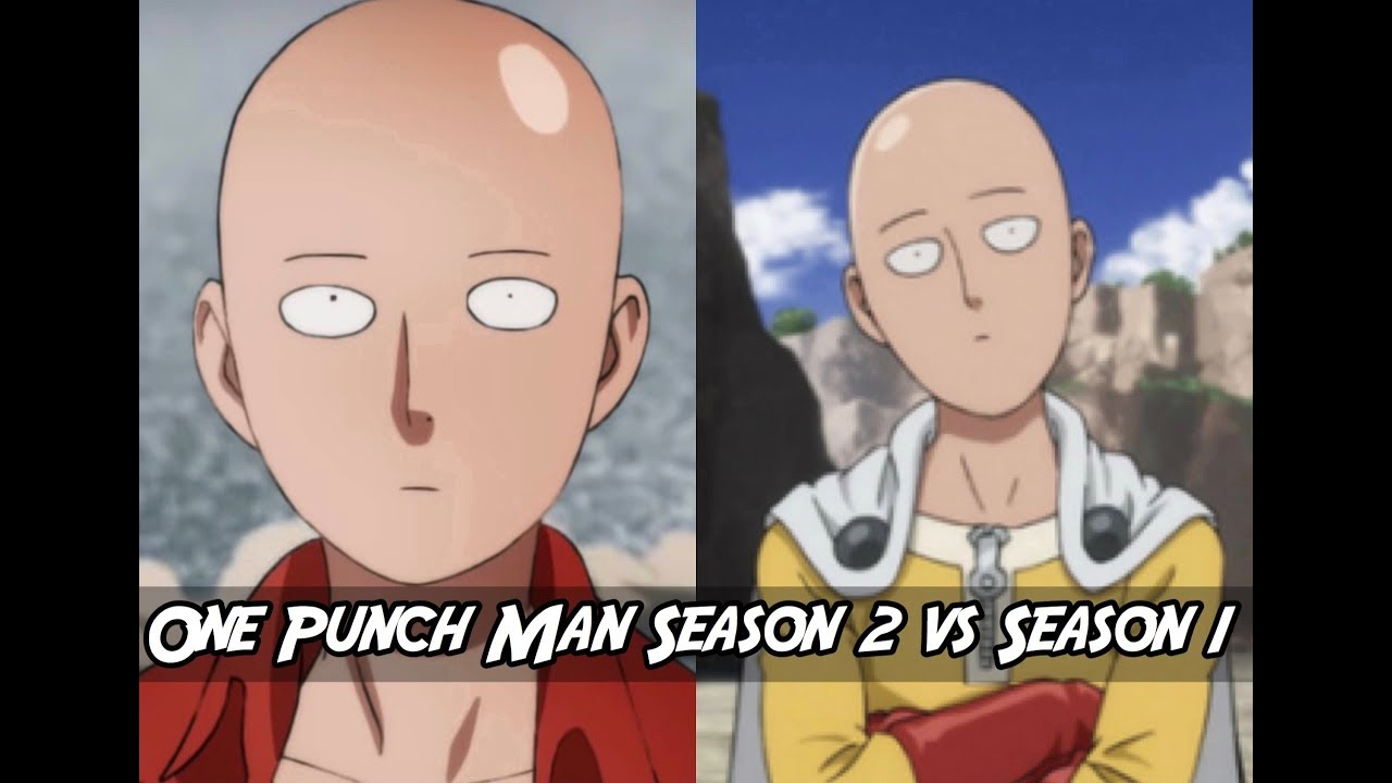 One Punch Man Season 2 Animation vs Season 1