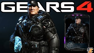 "Gears of War 4 - ""Black Steel Hoffman"" Character Multiplayer Gameplay! (Black Steel E Day Hoffman)"