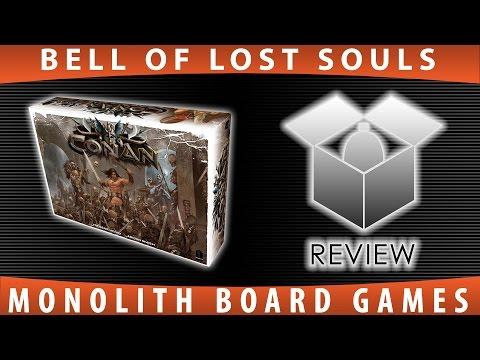 BoLS Unboxing   Conan   Monolith Board Games