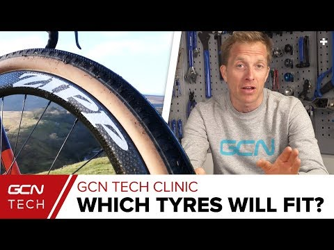 What Are The Widest Tyres You Can Fit On Your Road Bike? | GCN Tech