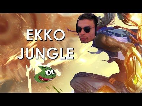 Ekko Jungle Highligts do Unranked ao Challenger