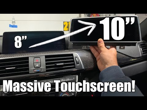 BMW Oversized TOUCHSCREEN install: DIY upgrade guide for F80, F82, F83, F30, F32 (coding included)