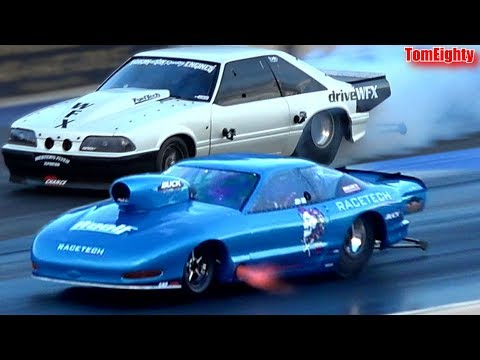 Street Outlaws Jerry Bird  -vs-  Chuck Seitsinger