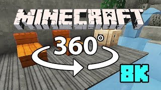 Minecraft [VR] 360° 8K 60 Fps - Cliffside Mansion thumbnail