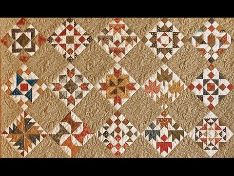 Civil War Quilt Sampler - YouTube : quilt civil war - Adamdwight.com