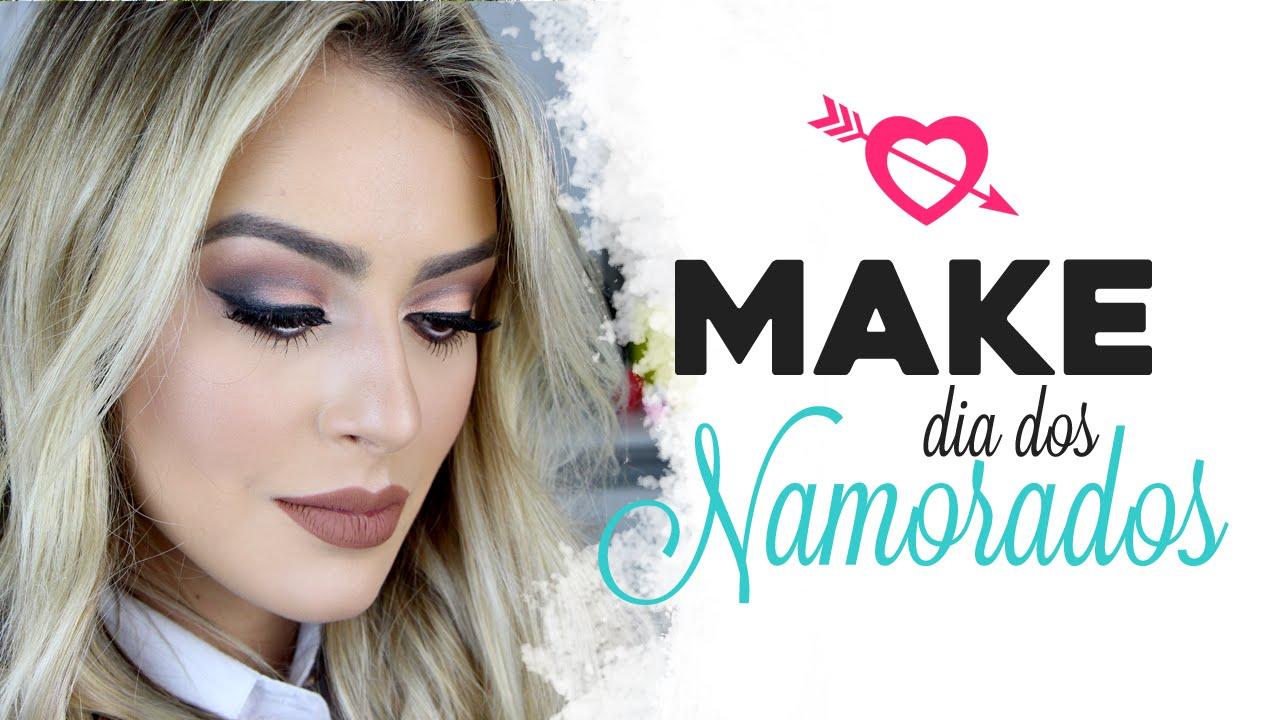 Dia Dos Namorados Mariana Seno: Maquiagem Para O Dia Dos NAMORADOS Por Mariana Saad