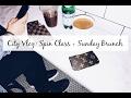 Vlog: Spin Class + Sunday Brunch In Boston | Maggie MacDonald