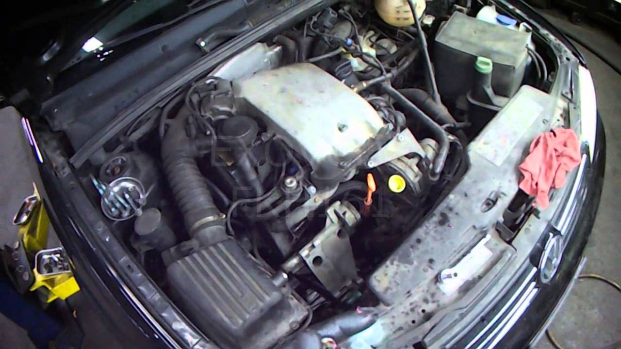 VW A3 20L ABA Water Pump Installation with AC Part 2 YouTube – K2 Vw Jetta Engine Diagram