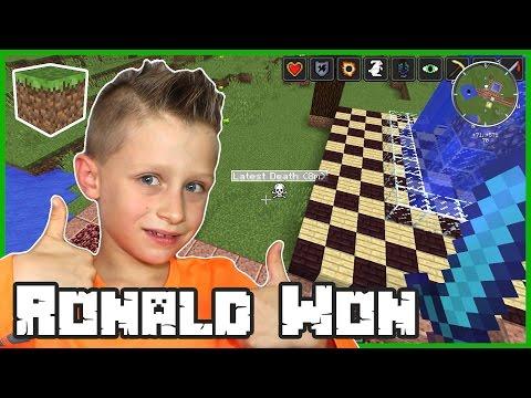 Minecraft Challenge Games / Ronald Won Again
