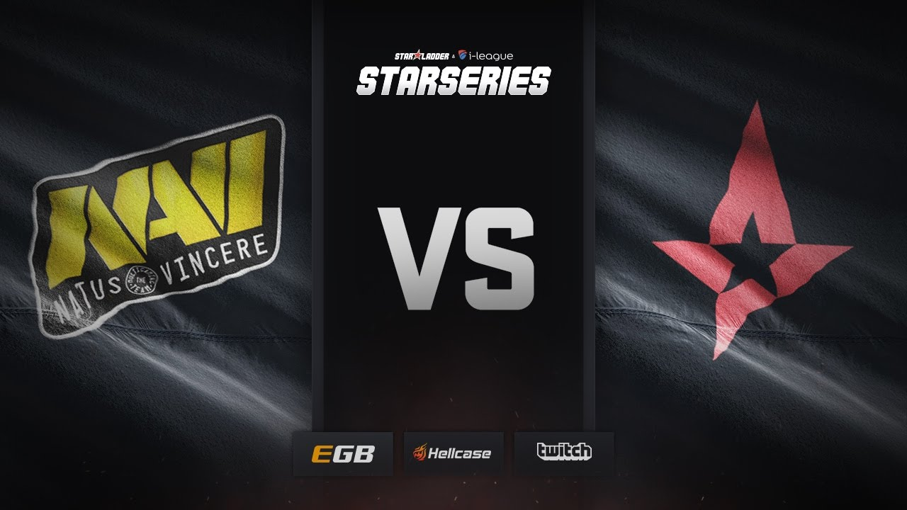 [EN] Natus Vincere vs Astralis, map 1 overpass, SL i-League StarSeries Season 3 Finals