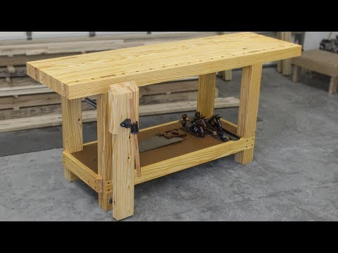 Build a Roubo Inspired Woodworking Workbench
