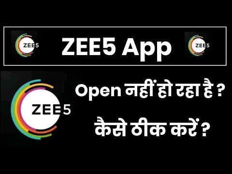 Zee5 App Open Nahi Ho Raha Hai !! How To Fix Zee5 App Open Problem
