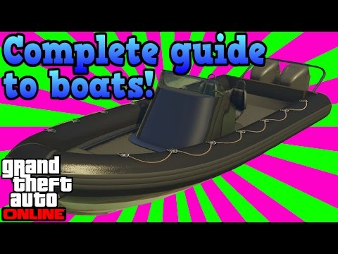 The complete guide to boats! - GTA online guides