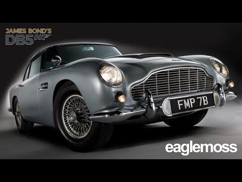 Eaglemoss Aston Martin DB5 1-2 выпуск
