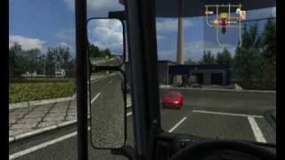 German Truck Simulator - gameplay - garage upgrade
